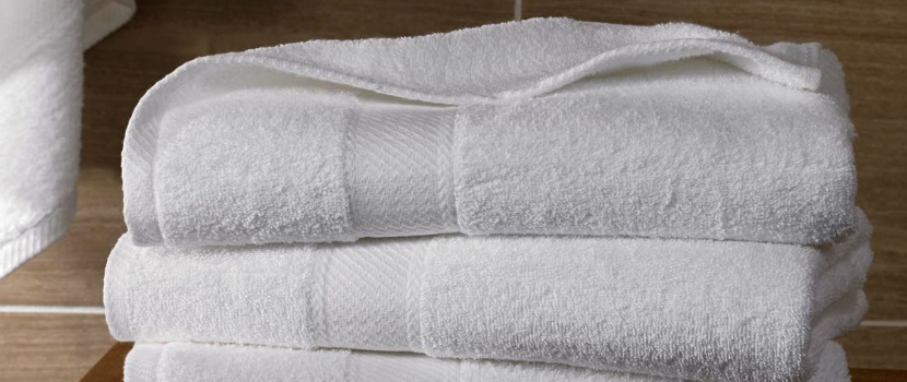 White Towels Manufacturer Supplier Exporter Faisalabad